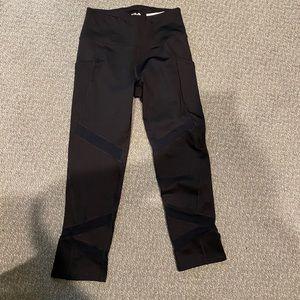 New Fila Sport XS Crop leggings with Mesh Detail